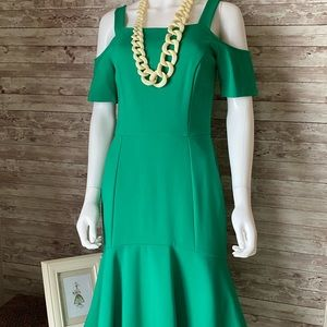 NWT Adelyn Rae Fitted Cold Shoulder Dress